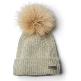 Columbia Winter Blur Gorro Pom Pom, chalk